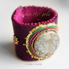 http://www.designspinka.pl/purpure-fuchsia/ bransoleta © wzór chroniony prawem autorskim