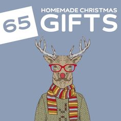 homemade gifts 65 Amazing Homemade Christmas Gifts- love this list! Pretty much every kind of tutorial for homemade gifts imaginable. Homemade Christmas Gifts, Xmas Gifts, Homemade Gifts, Craft Gifts, Cute Gifts, Diy Gifts, Food Gifts, Handmade Christmas, Santa Gifts