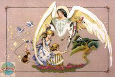 Mirabilia - Guardian Angel - Cross Stitch World