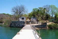 Isla San Lucas Prison entrance