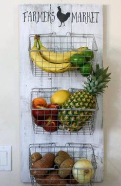 Great way to store fruit, from junky Joey