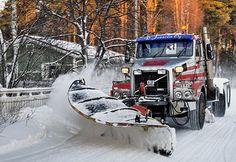Snowplow | Flickr - Photo Sharing! Finland