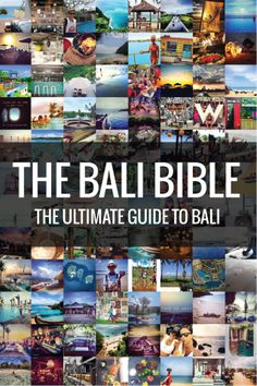 The Bali Bible - Get it now!