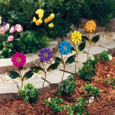 Garden Stakes - Pin it :-) Follow us :-)) zGardensupply.com is your Garden Supply Gallery ;) CLICK IMAGE TWICE for Pricing and Info SEE A LARGER SELECTION of garden stakes at  http://zgardensupply.com/category/garden-supply-categories/garden-structures/garden-stakes/ - garden, gardening, gardening gear , gift ideas  -    Daisy Garden Stakes – Outdoor & Garden Decor « zGardenSupply