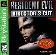 Resident Evil Director's Cut - PSONE. This is why 1995 - 1998 is a total blur!