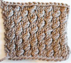Cable Look-Alike Knitting Stiches, Knitting Blogs, Knitting Yarn, Knitting Projects, Crochet Stitches, Knitting Patterns, Crochet Patterns, Cable Knitting, Creative Knitting