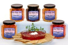 Blue Ridge Jams: Habanero Pepper Jelly, Jams, and Preserves Variety Pack, Set of 6 (10 oz Jars) - http://www.yourgourmetgifts.com/blue-ridge-jams-habanero-pepper-jelly-jams-and-preserves-variety-pack-set-of-6-10-oz-jars/