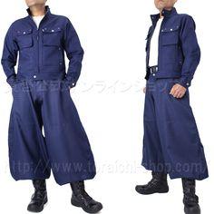 Toraichi 7260-554 Rider's jacket 7260-418 Cho-cho long pants