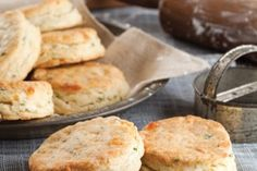 White Cheddar Herbed Biscuits
