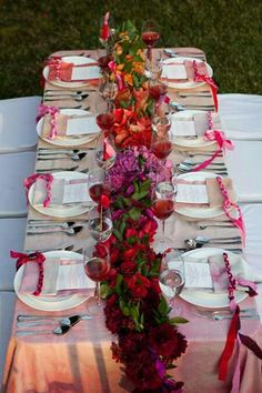 Ombre reception