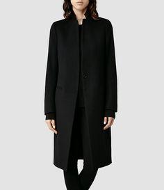 Women's Eryn Coat (Black) -