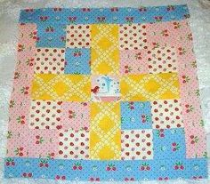 Moose on the Porch Quilts: Block Six with Freda's Hive