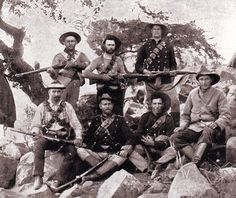 Boers with Mauser rifles bought from Germany: Battle of Magersfontein on December 1899 in the Boer War War Novels, Saint Matthew, War Photography, British Army, African History, Military History, Modern Warfare, World War Two, South Africa