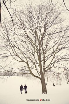 Winter Engagement Photography! Renaissance Studios Photography - Milton Toronto & Area Ontario Vintage Wedding Engagement Photographers