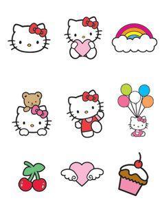 hello kitty printable... use for decor accents?