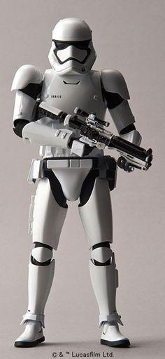 fad8107638a Star Wars First Order Storm Trooper Scale Plastic Model kit