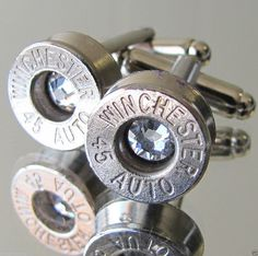 Hey, I found this really awesome Etsy listing at https://www.etsy.com/listing/180556935/45-auto-winchester-mens-cufflinks-choice