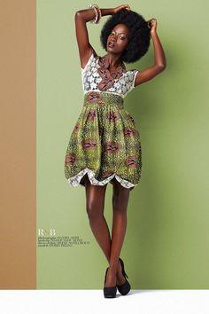 Designer: REINE SONIA BOUO