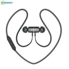 HANGRUI BX325 wireless headphones bluetooth earphone V4.0 Magnetic Noise Reduction Stereo Headset with Mic For iphone 6 xiaomi