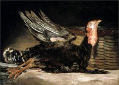 Francisco Goya - dead turkey
