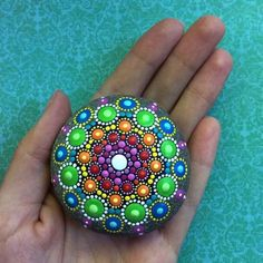 Mandalas Ideas: Mandala Stone 3