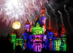 Villains took over at Disneyland Friday night as the park launched its Mickey's Halloween Party.