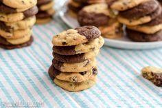 Brookies (galletas de chispas de chocolate y brownie) REJINILLA