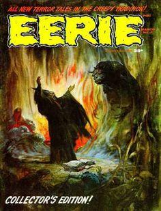 Warren Publishing's premier issue of EERIE magazine