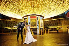 Fremont Street Las Vegas wedding
