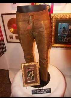jim morrisons leather trousers
