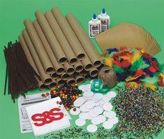Buy Tribal Rainsticks Craft Kit (makes 24) at S&S Worldwide