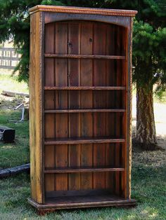 Country Roads Reclaimed Wood Bookcase