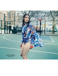 visual optimism; fashion editorials, shows, campaigns & more!: naty by sophy holland for l'officiel ukraine june 2015