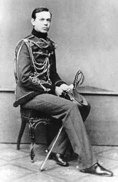 His Imperial Highness Tsarevich Alexander Alexandrovich of Russia (1845-1894) who would become Tsar Alexander III.
