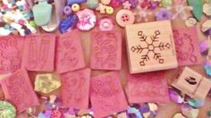 JEWELRY PUNCHER METAL CRAFTS LOT BEADS STAMPS WOOD STICKERS PIXEL RIBBON C PICS!
