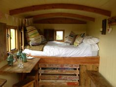 Corbie Shepherds Hut | Wild Northumbrian Tipis and Yurts