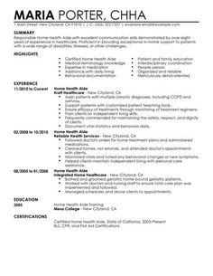 home health care cover letter