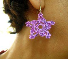 PDF Tutorial Crochet PatternDangle Earrings by accessoriesbynez, $2.50