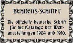 behrens-schrift