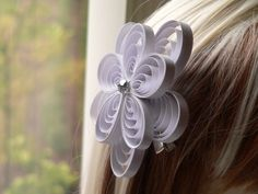 White Wedding Hair Accessory White Fascinator by MiaettiaCreations, $40.00