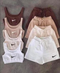 Summer bermuda set - Beige sold by Boujee Fashion Style on Storenvy Cute Lazy Outfits, Trendy Summer Outfits, Sporty Outfits, Retro Outfits, Stylish Outfits, Nike Outfits, Tomboy Fashion, Teen Fashion Outfits, Look Fashion