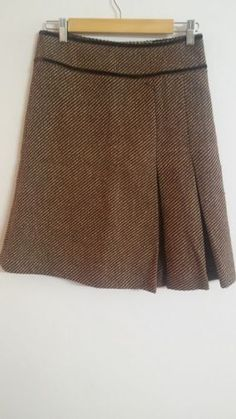 Falda en tonos marrón - Chicfy /Skirt in brown tones