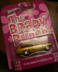Hot Wheels the Brady Bunch '71 Plymouth Satellite #HotWheels #Plymouth