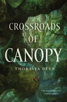 Buy Crossroads of Canopy by Thoraiya Dyer at Mighty Ape NZ. At the highest level of a giant forest, thirteen kingdoms fit seamlessly together to form the great city of Canopy. Thirteen goddesses and gods rule t. New Fantasy, Fantasy Series, Fantasy Books, Sci Fi Fantasy, Best Sci Fi, Female Hero, Cozy Mysteries, Book Lists, The Book
