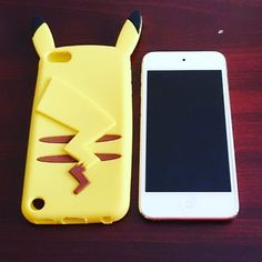 Nikkipedia: Today my iPod gets a makeover. . . . . #nikkipediablog #ipod #ipodtouch #ipodtouch6 #pikachu #ipodcase