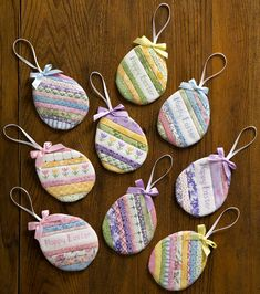 Easter Projects, Easter Crafts For Kids, Easter Stuff, Easter Ideas, Fabric Crafts, Sewing Crafts, Easter Tree, Easter Eggs, Easter Fabric