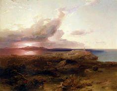 Carl Anton J. Rottmann - Ägina- Apollotempel