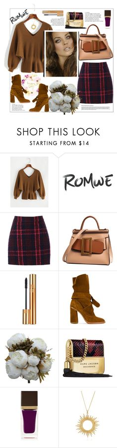 """Romwe"" by natalyapril1976 on Polyvore featuring Mode, Oasis, Yves Saint Laurent, Casadei, Marc Jacobs, Tom Ford und Rachel Jackson"