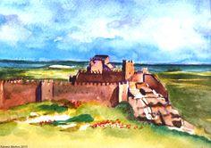 Exposición Colectiva de la Asociación de Acuarelistas de Teruel. Castillo de Peracense, Teruel. 2015 Group Exhibition of the Association of watercolors of Teruel. Peracense Castle, Teruel. 2015 Spain
