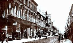 A Historic Look at #BoldStreet in #Liverpool.